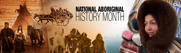June is National Aboriginal History Month.