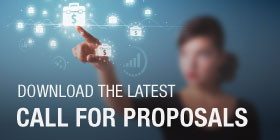Download the latest call for proposals