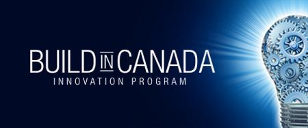 A graphic representing the Build in Canada Innovation Program