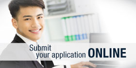 Submit your application online