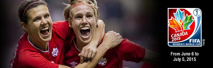 Christine Sinclair and Sophie Schmidt from our Women's National Soccer Team